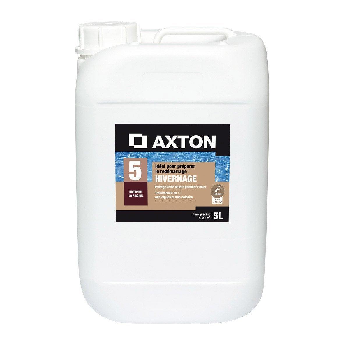 Hivernage piscine axton liquide 5 l 5 kg leroy merlin for Produit piscine