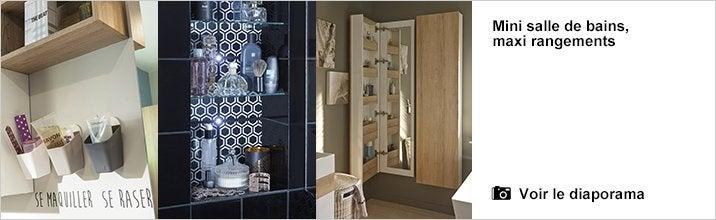 Armoire toilette decotec maxi 1 jpg pictures to pin on - Miroir tryptique castorama ...