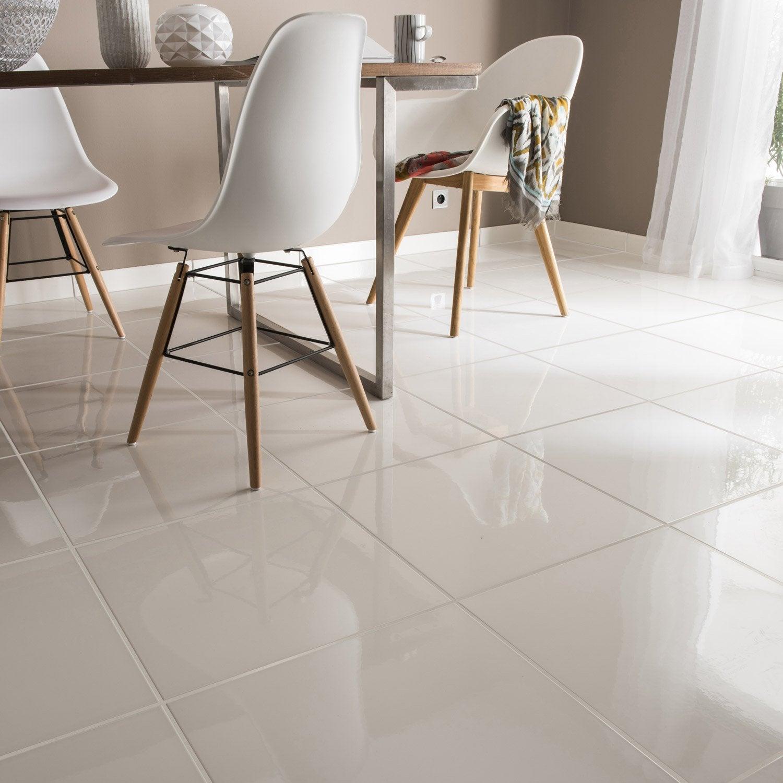 carrelage sol et mur forte blanc siberie x cm. Black Bedroom Furniture Sets. Home Design Ideas