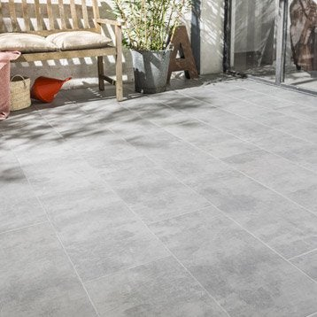 Carrelage ext rieur carrelage pour terrasse leroy merlin for Joint carrelage gris perle