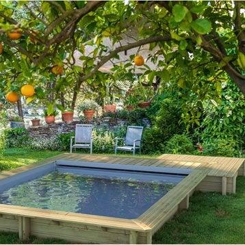 piscine piscine hors sol bois gonflable tubulaire acier leroy merlin. Black Bedroom Furniture Sets. Home Design Ideas
