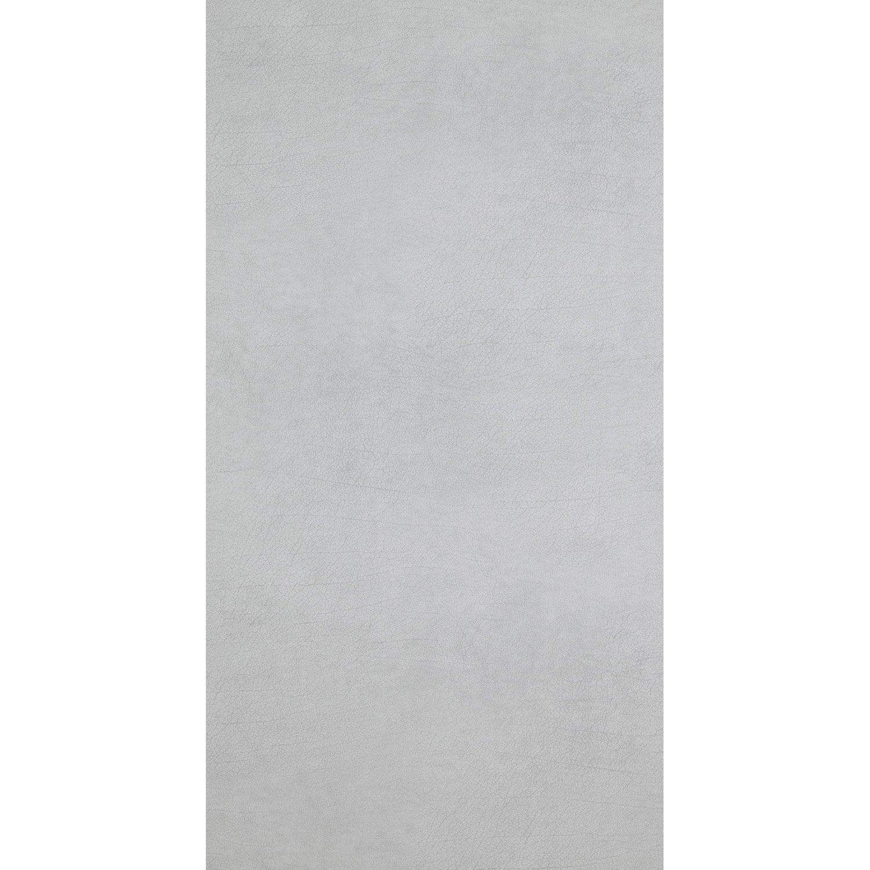 Papier Peint Vinyle Shaman Effet Cuir Gris Clair