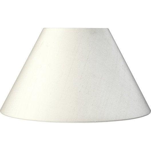 Abat jour Sweet, 40 cm, toiline, blanc ivoire n°3 INSPIRE