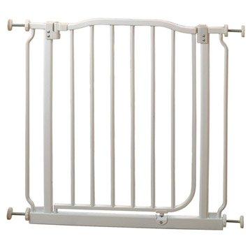 Barrière de sécurité enfant Byblos4, long. max/min 69/73cm, H75 cm