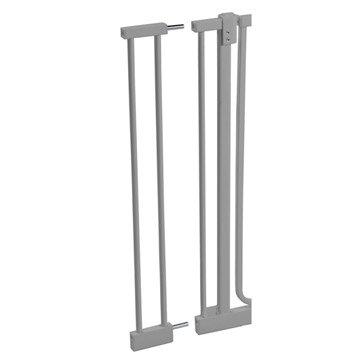 Barrière de sécurité enfant Luna en métal, long. 10 cm, H75 cm