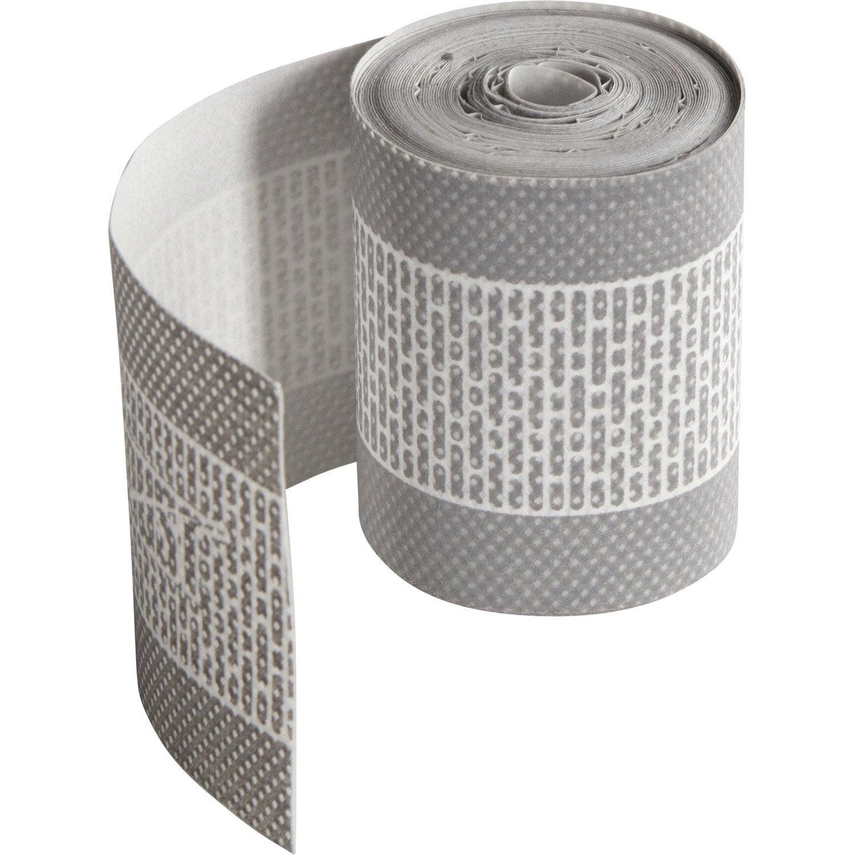 Ruban Adhésif Pour Plaque Ep 32 Mm Gris Aluminium L 5 M Leroy Merlin