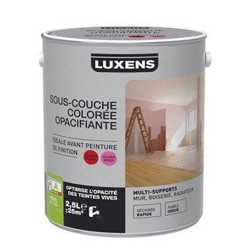 Sous-couche universelle colorée rouge LUXENS, 2.5 L