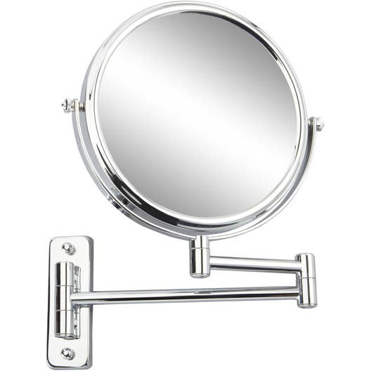 Miroir Grossissant X 10 Rond Fixer Per Age H 20 X L 20 X P 3 5