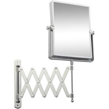 Miroir grossissant Lauryne, 22.5 x 18.5 cm