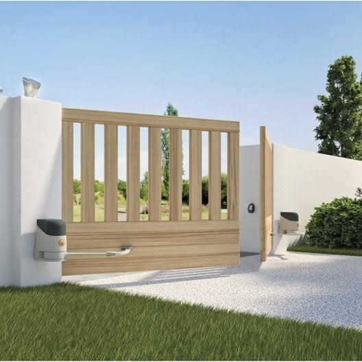 motorisation de portail bras mhouse by nice ws200w leroy merlin. Black Bedroom Furniture Sets. Home Design Ideas