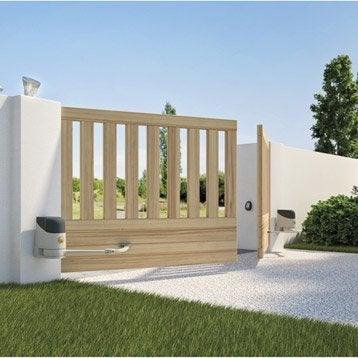 motorisation portail coulissant bras v rins leroy merlin. Black Bedroom Furniture Sets. Home Design Ideas