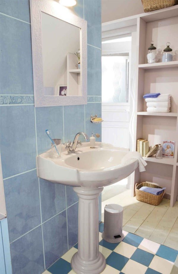 Comment choisir sa vasque ou son lavabo leroy merlin for Ensemble lavabo meuble leroy merlin