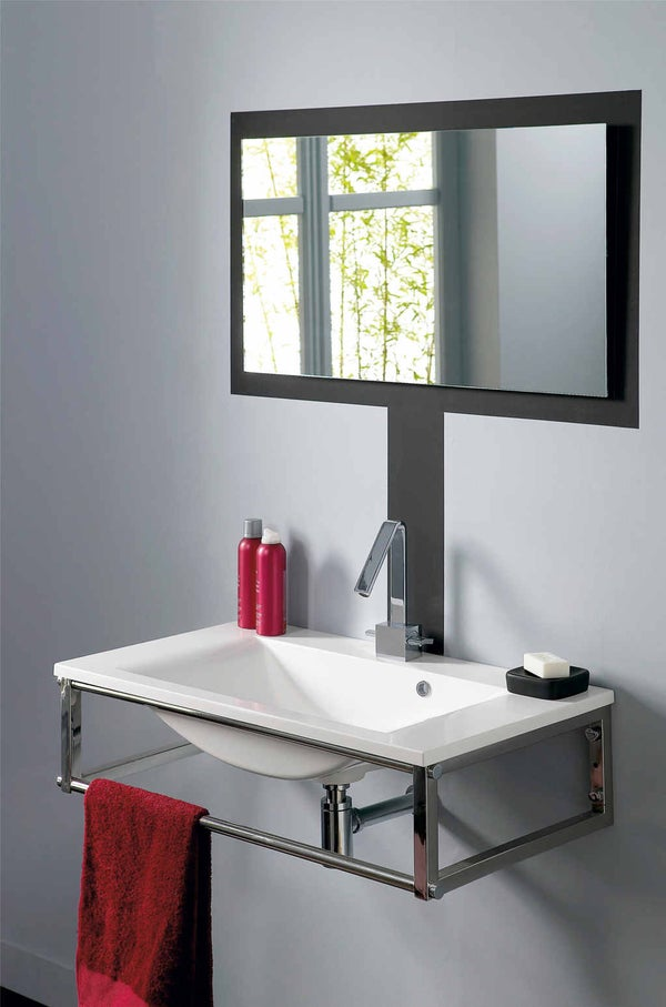 Bien choisir sa vasque ou son lavabo leroy merlin - Meuble four encastrable leroy merlin ...