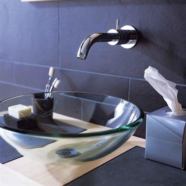 Comment choisir sa vasque ou son lavabo leroy merlin for Nettoyer les robinets de salle de bain