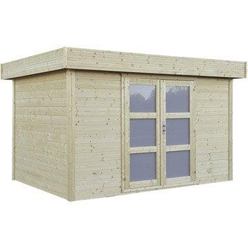 Abri de jardin abri garage rangement et tendage - Abri de jardin en bois naterial tepsa ...