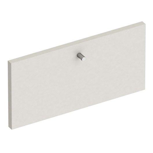 fa ade de tiroir spaceo home 20 x 40 x 1 6 cm gris leroy merlin. Black Bedroom Furniture Sets. Home Design Ideas