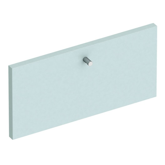 fa ade de tiroir spaceo home 20 x 40 x 1 6 cm bleu leroy merlin. Black Bedroom Furniture Sets. Home Design Ideas