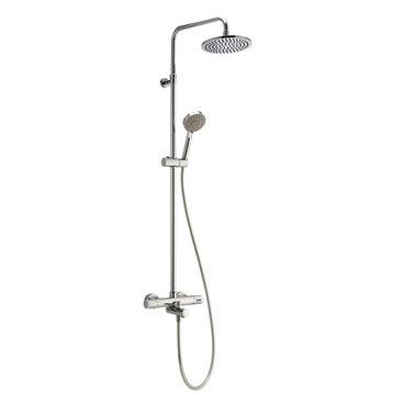 Colonne de douche et bain avec robinetterie, SENSEA Siryo