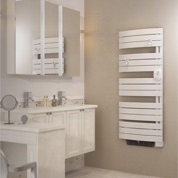 Sèche-serviettes électrique soufflerie SAUTER Venise 3CS 500+1000W