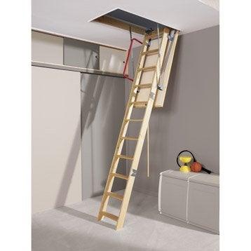Echelle de meunier et escalier escamotable porte coulissante porte int rie - Escalier escamotable de grenier leroy merlin ...