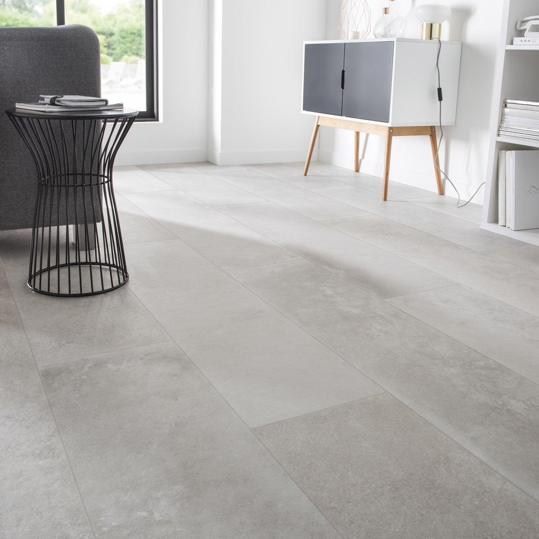carrelage sol et mur greige effet b ton harlem x cm leroy merlin. Black Bedroom Furniture Sets. Home Design Ideas