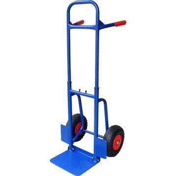 Diable rigide HAILO acier, charge garantie  150 kg