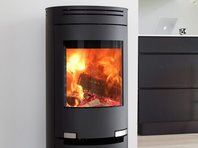 po le granul s kausiflam keops noir et blanc 10 3 kw leroy merlin. Black Bedroom Furniture Sets. Home Design Ideas