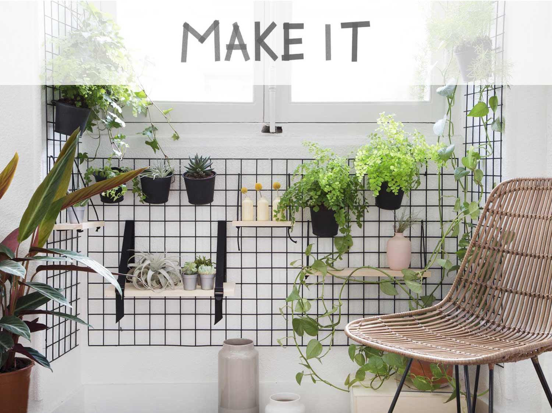 DIY : Réaliser un mur végétal d\'intérieur   Leroy Merlin