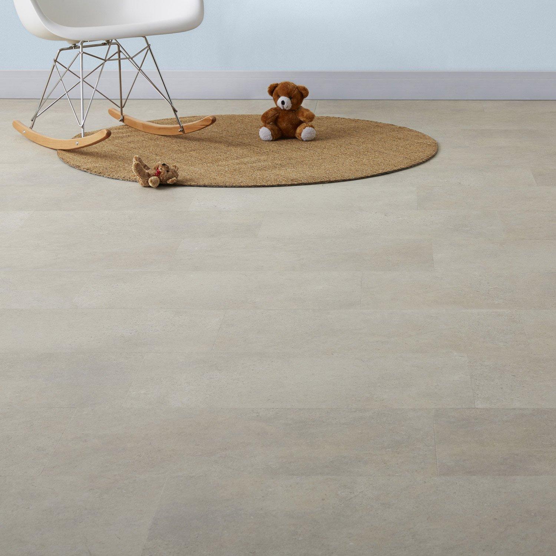 dalle pvc adh sive calcaire artens stone leroy merlin. Black Bedroom Furniture Sets. Home Design Ideas