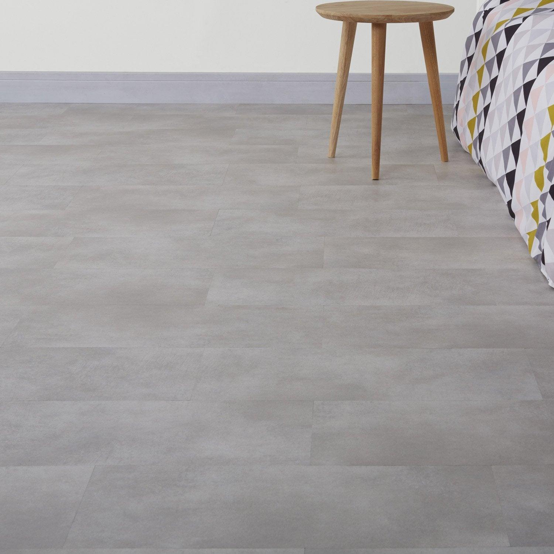 Dalle PVC clipsable gris clair ARTENS City