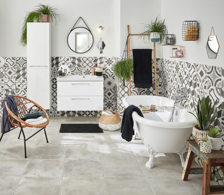 une niche carrel e int gr e dans le mur leroy merlin. Black Bedroom Furniture Sets. Home Design Ideas