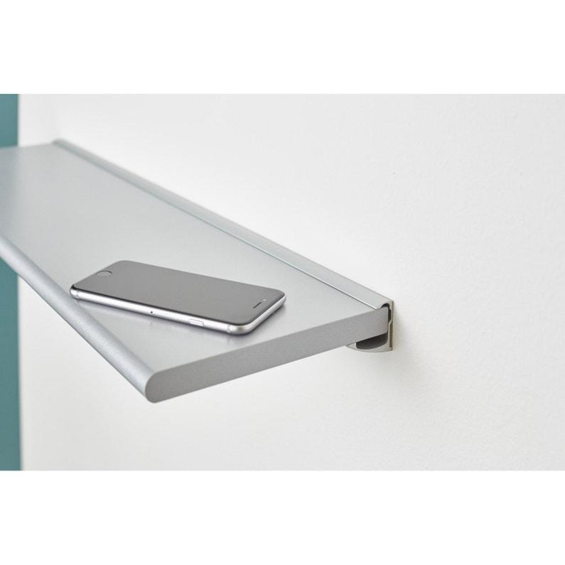 Profilé Aluminium Alluminia Argent 60 Cm