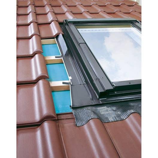 raccord pour fen tre de toit artens eh gris leroy merlin. Black Bedroom Furniture Sets. Home Design Ideas