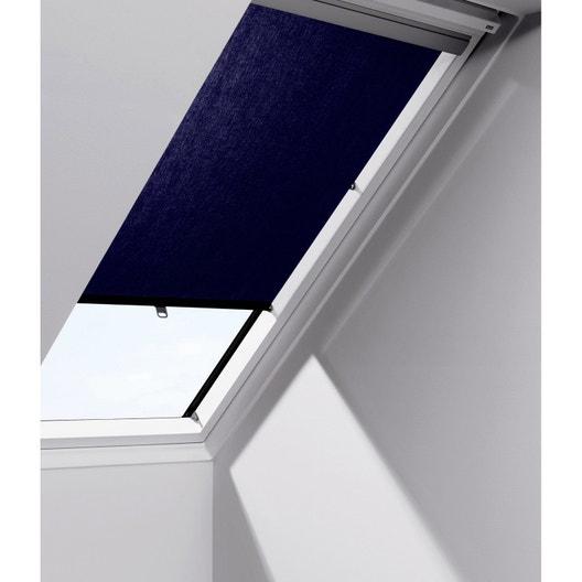 store fen tre de toit rideau bleu velux rhl uk00 leroy merlin. Black Bedroom Furniture Sets. Home Design Ideas