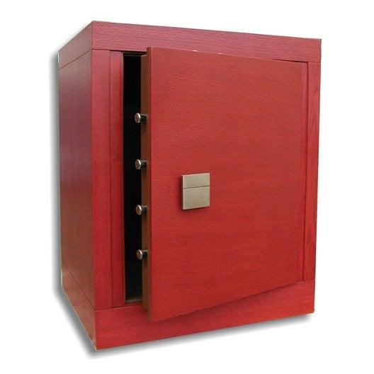 coffre fort haute s curit code stark moderne 358mcred 184 8l leroy merlin. Black Bedroom Furniture Sets. Home Design Ideas