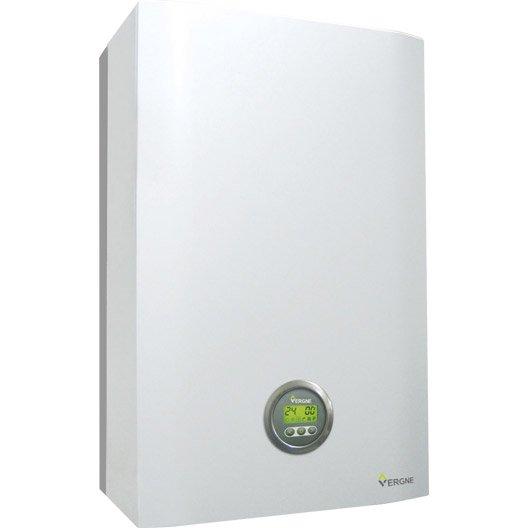 Chaudière mur gaz condensation instantanée VERGNE Mce2 24.24 gn +kit 24 kW