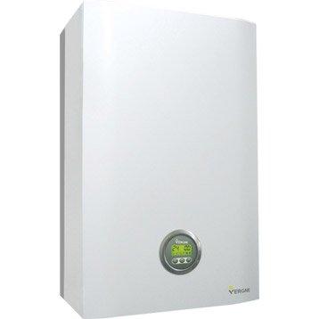 Chaudière murale gaz à condensation instantanée VERGNE MCE2 24.24 GN +KIT, 24kW