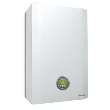 Chaudière murale gaz à condensation instantanée VERGNE MCE2 24.24 GP +KIT, 24kW