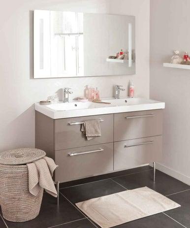 bien choisir son meuble de salle de bains leroy merlin. Black Bedroom Furniture Sets. Home Design Ideas
