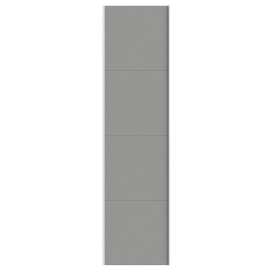 Portes coulissantes spaceo home 240 x 60 x 1 6 cm for Porte coulissante 240 cm hauteur