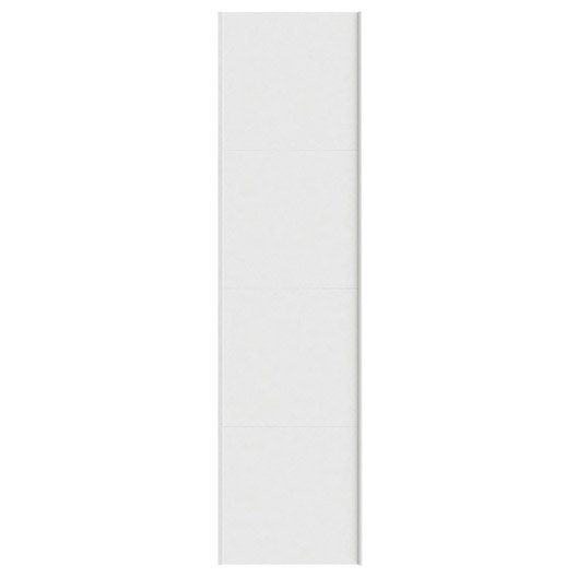 Portes coulissantes spaceo home 240 x 60 x 1 6 cm blanc leroy merlin - Porte coulissante 240 ...