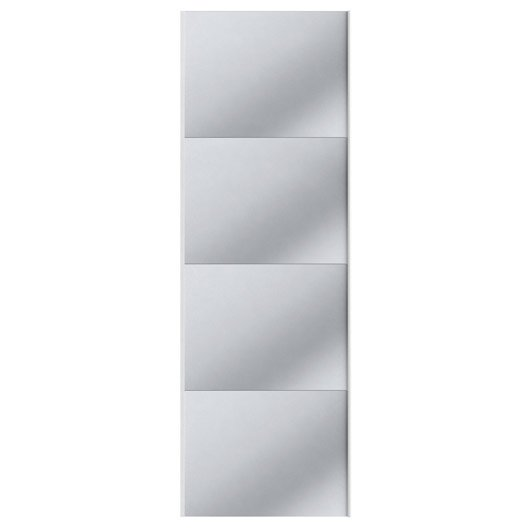 Portes coulissantes spaceo home 240 x 80 x 1 6 cm gris for Porte coulissante 240 cm hauteur