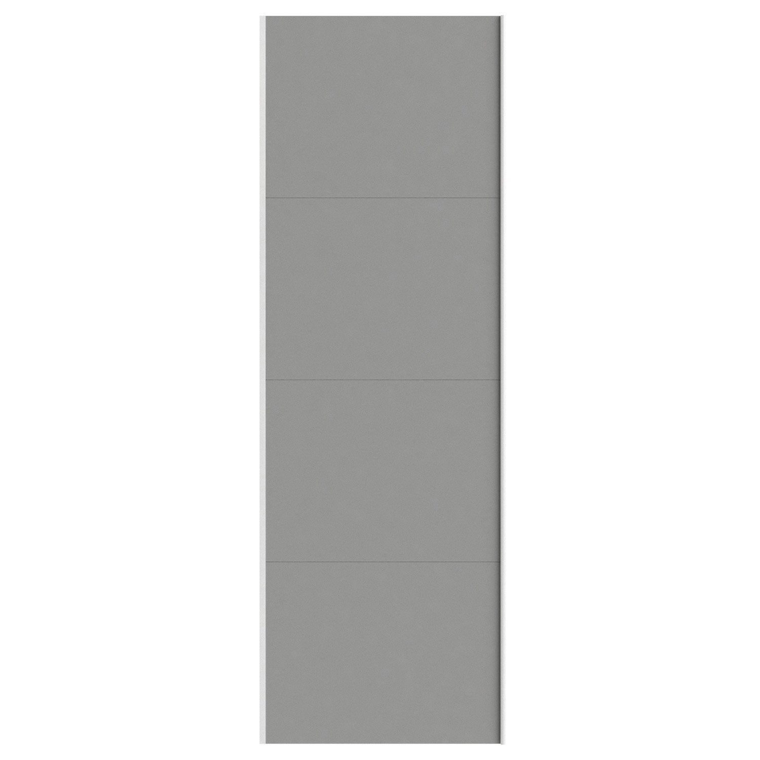 Portes coulissantes spaceo home 240 x 80 x 1 6 cm for Porte coulissante 240 cm hauteur