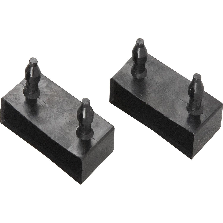 Lots De 2 Embouts Pvc X 8mm L 8 Cm Leroy Merlin