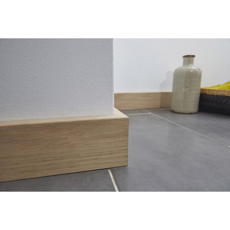 surplinthe de r novation placage ch ne sans noeud 20 x 92. Black Bedroom Furniture Sets. Home Design Ideas