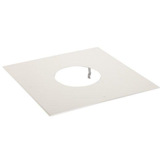 Plaque de propret pour tubage isotip joncoux d 153 40 cm for Plaque de finition poele