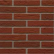Plaquette de parement pierre naturelle rouge clair Elastolith