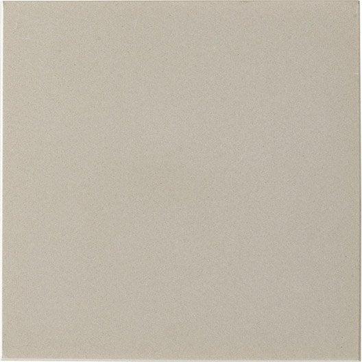 carrelage sol et mur gris perle effet uni archi x cm leroy merlin. Black Bedroom Furniture Sets. Home Design Ideas