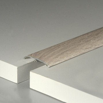 barre de seuil pour parquet et stratifi leroy merlin. Black Bedroom Furniture Sets. Home Design Ideas
