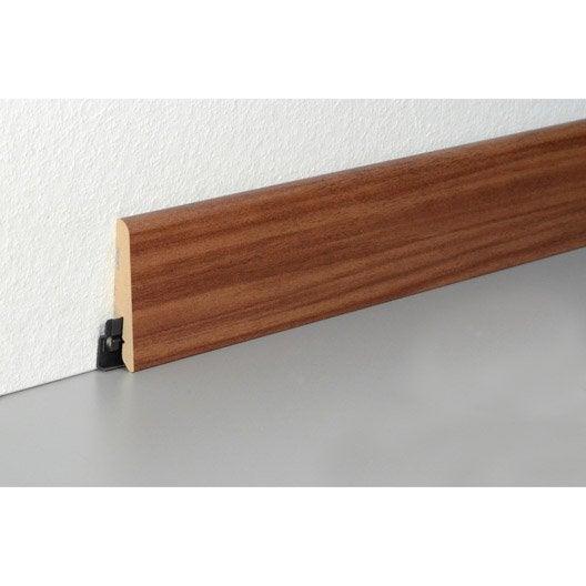 plinthe sol stratifi d cor n 260 cm x x mm leroy merlin. Black Bedroom Furniture Sets. Home Design Ideas